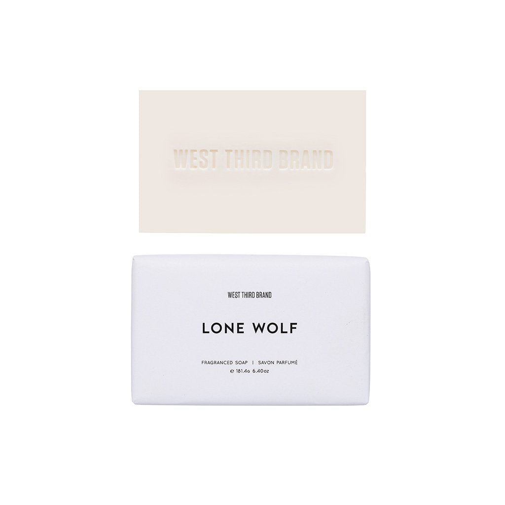 West Third Brand Lone Wolf Bar Soap