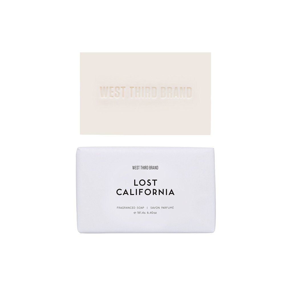 West Third Brand Lost California Bar Soap