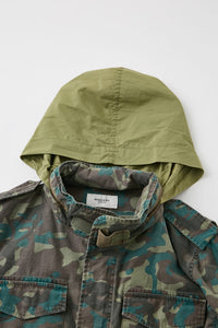 Moussy Vintage M-65 Field Jacket in Camo