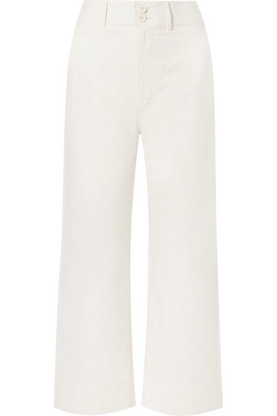 Apiece Apart Merida Pant in Cream
