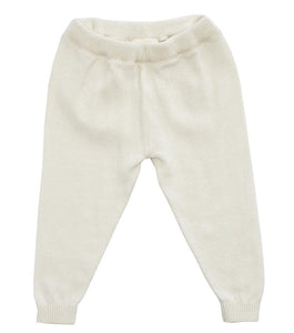 Organic Cotton Knit Baby Legging