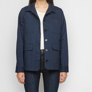 Jenni Kayne Military Twill Jacket in Navy