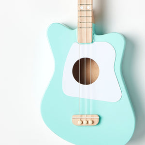 Mini Acoustic Guitar in Green