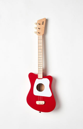 Mini Acoustic Guitar in Red