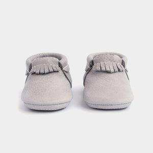 Baby Mini Sole City Mocc in Salt Falts
