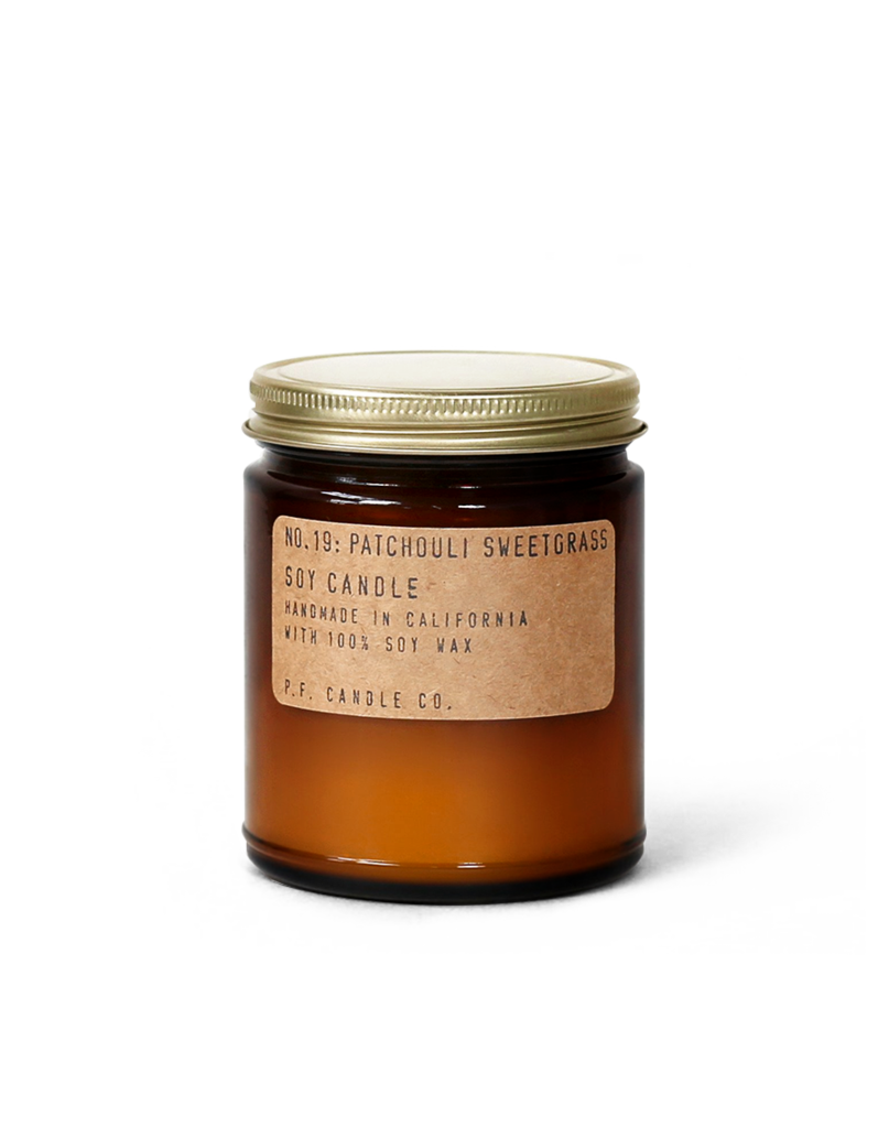 PF Candle Co no.19 PATCHOULI SWEETGRASS
