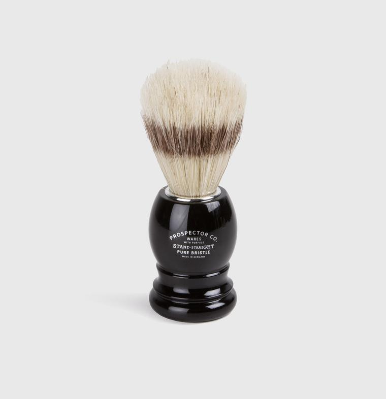 Prospector Co. Pure Bristle Shaving Brush