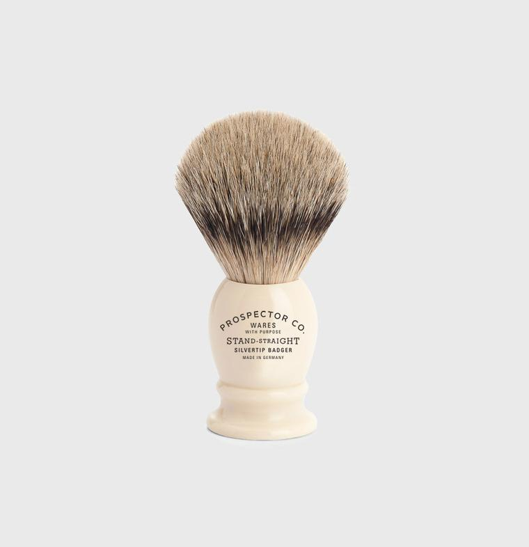 Prospector Co. Silvertip Badger Shaving Brush
