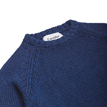Corridor NYC Rinsed Indigo Cotton Crewneck