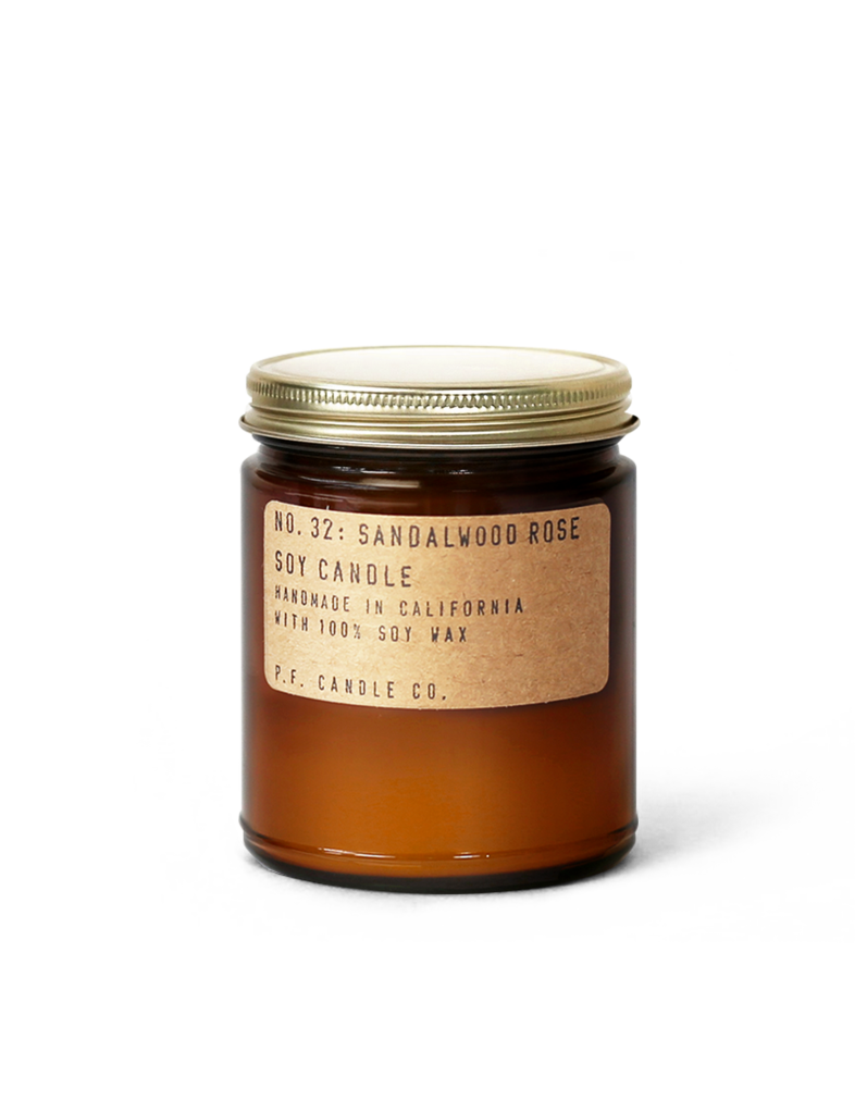 PF Candle Co no.32 SANDALWOOD ROSE