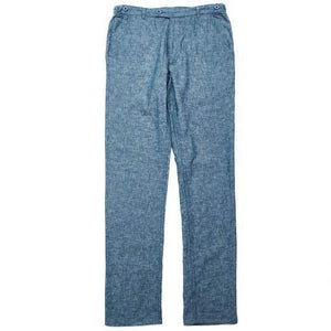 Corridor NYC Summer Linen Chambray Trousers