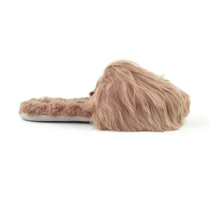Alpaca Slipper in Blush