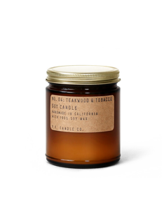 PF Candle Co no.04 TEAKWOOD & TOBACCO