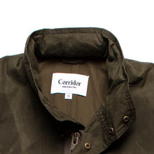 Corridor NYC Waxed 7.4 oz Cotton M65 Jacket in Olive