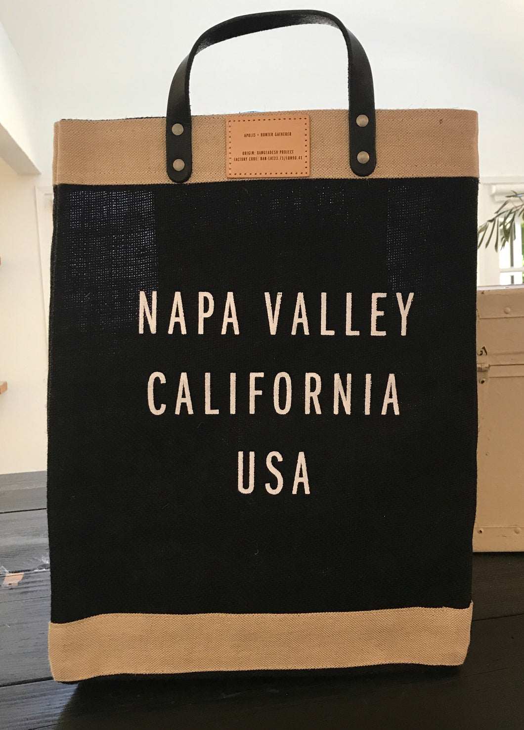 Apolis x HG Napa Valley Market Bag