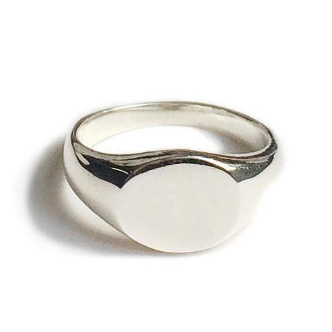 Arthur Mini Signet Ring Silver