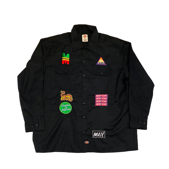 McGee NY Strong Dickies Button Down - Black