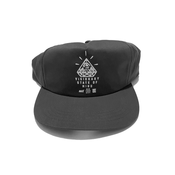 Visionary Daily Gems Unconstructed SnapBack  // CHARCOAL