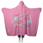 Daddy's Sweet Princess Hooded Blankie