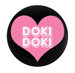Menhara XOXO Pin-Back Buttons