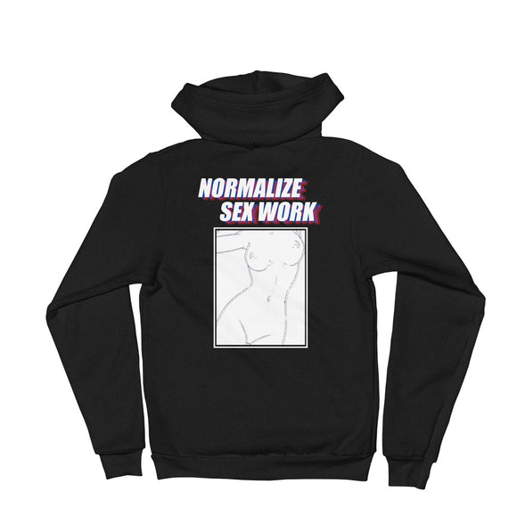 Normalize Sex Work Hoodie sweater