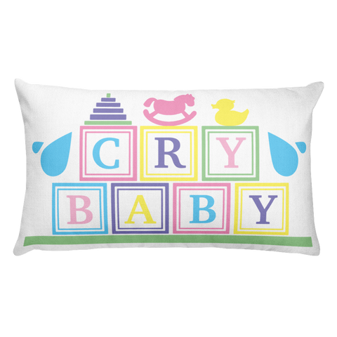 Cry Baby Pillow