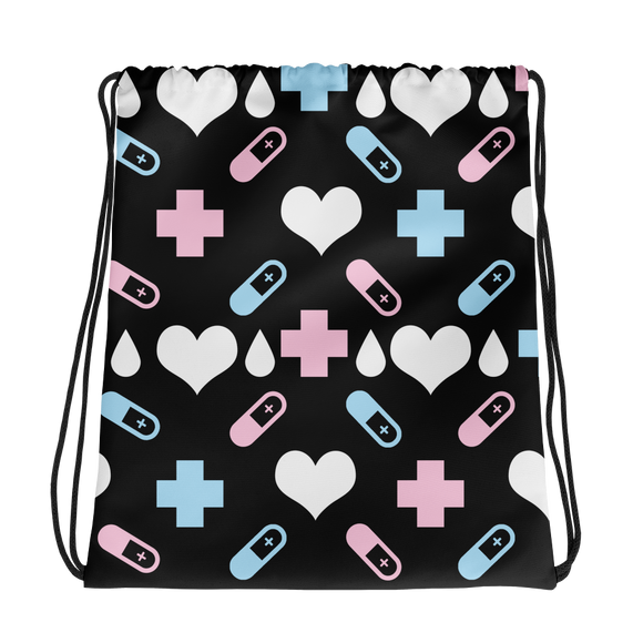 Menhera Pill Drawstring bag