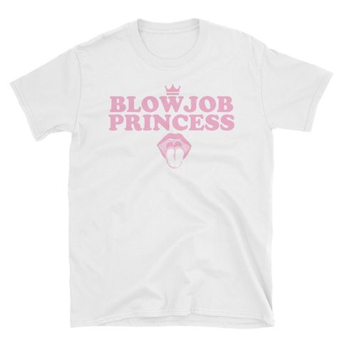 Blowjob Princess Short-Sleeve Unisex T-Shirt