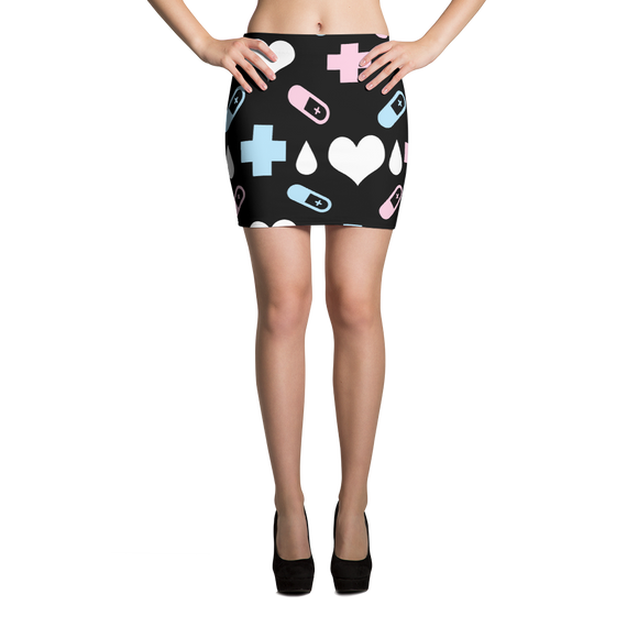 Menhera Pill Mini Skirt