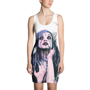 Sinner Sublimation Bodycon Dress