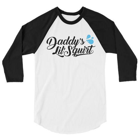 Daddy's Lil' Squirt Baseball T