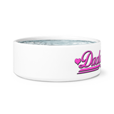 Daddy's Girl Pet Bowl