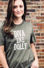 Dolly Olive Graphic T+Shirt