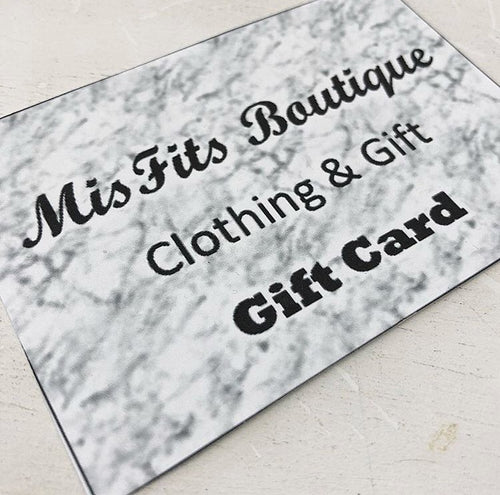MisFit's Gift Card