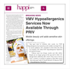 VMV Hypoallergenic Services in PRIV – Happi Magazine