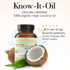 Know It Oil Organic Virgin Coconut Oil