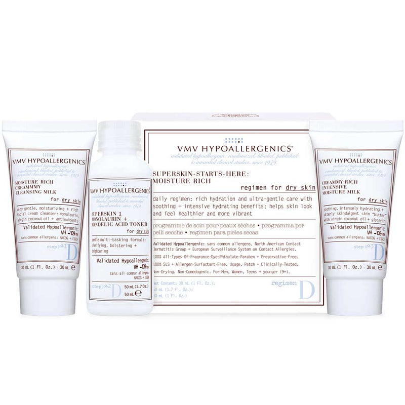 Superskin Starts-Here-Set: Moisture Rich for Dry Skin