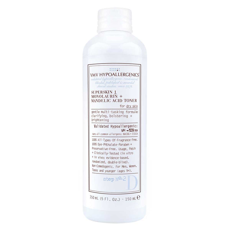 SuperSkin 1 Monolaurin + Mandelic Acid Toner for Dry Skin