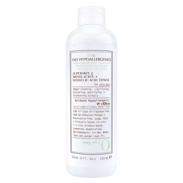 Superskin 3 Monolaurin + Mandelic Acid Toner for Oily Skin