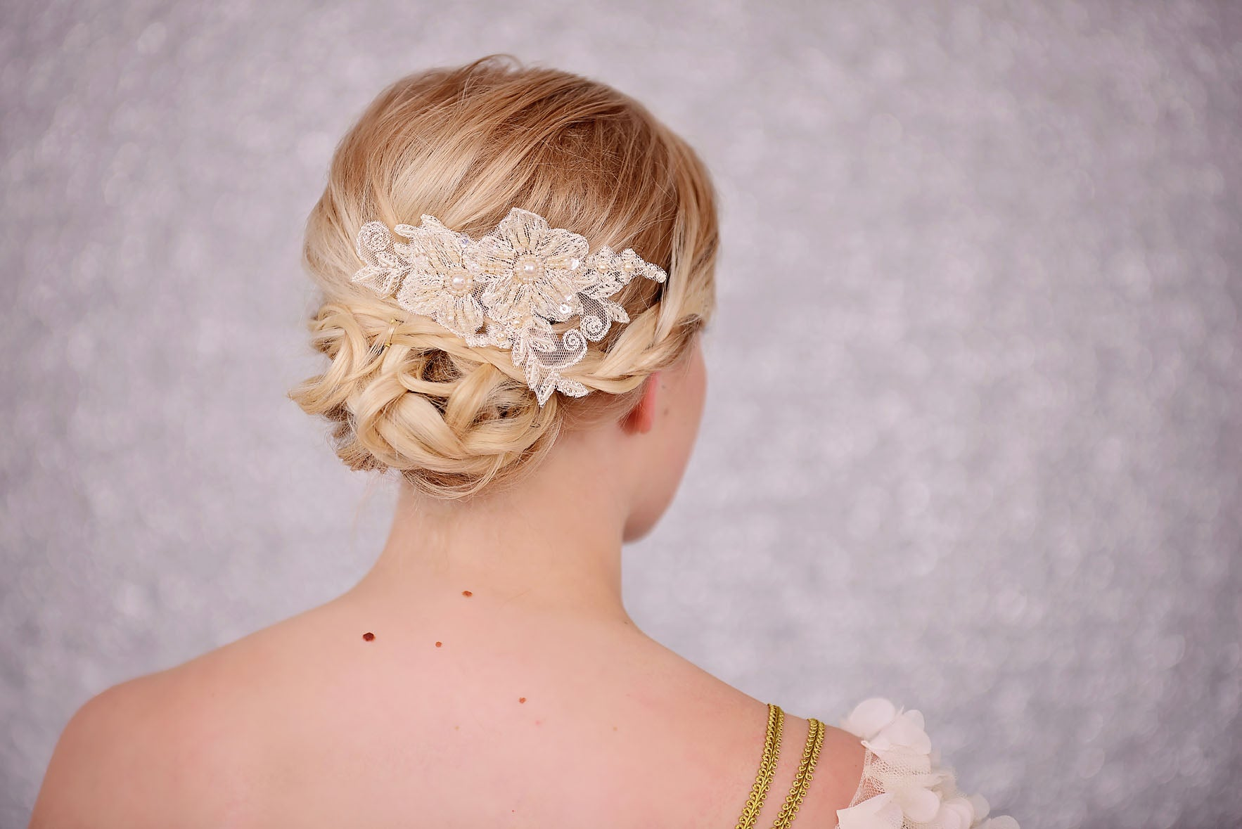 bridal & wedding hair accessories, veils, shoes and jewellery