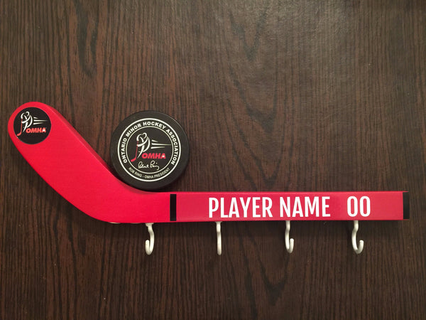 Hockey Night 4 Medal Holder Personalized