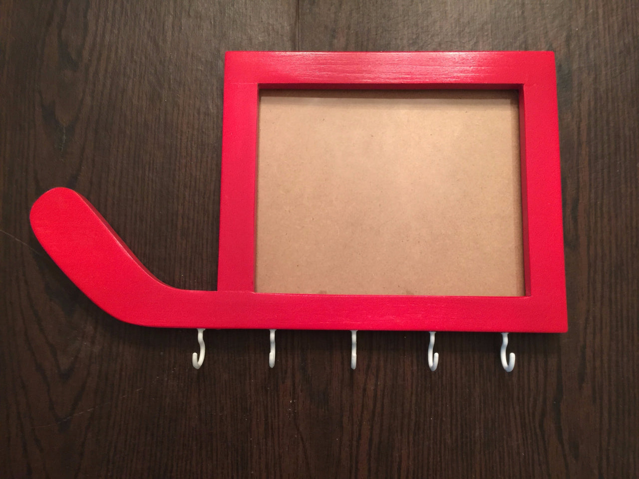 Hockey Night Picture Frame with 5 Medal Holder