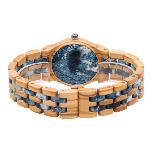 The Woodland Collection (Olive Wood and Blue Marble)