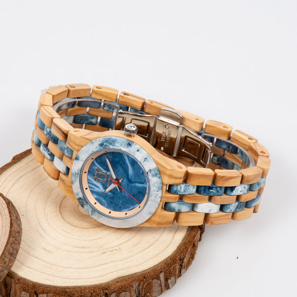 The Woodland Collection (Olivewood and Blue Marble)