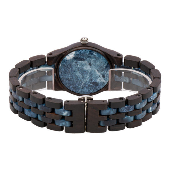 The Woodland Collection (Ebony wood and Blue Marble)