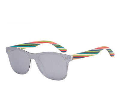 Rainbow Collection (Silver Polarized Lens)