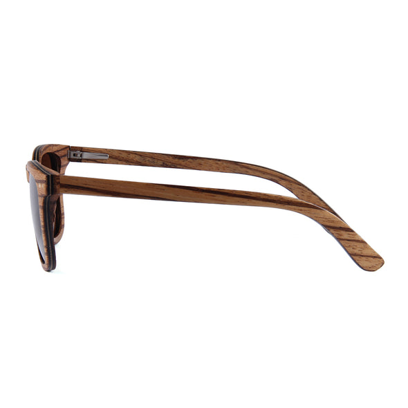 McLaren (Zebra Skateboard Wood) Polarized Lens