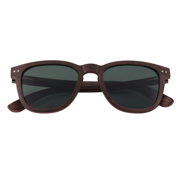 McLaren Collection Walnut Skateboard Wood Sunglasses