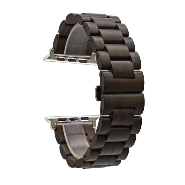 Wood I Watch Band compatible with Apple Watch