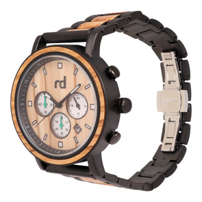 Regal Collection (Alloy and Wood Watch) Black